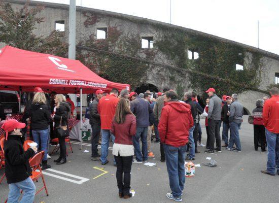 Cornell Big Red tailgate