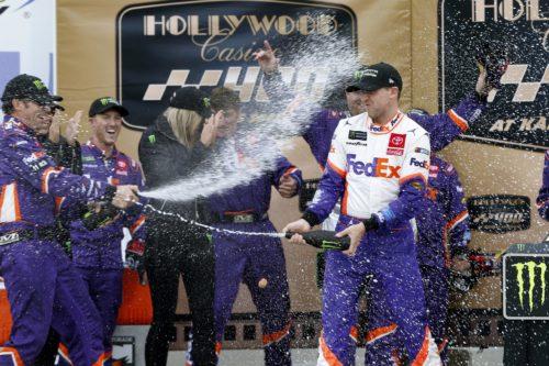 Denny Hamlin Hollywood Kansas Speedway