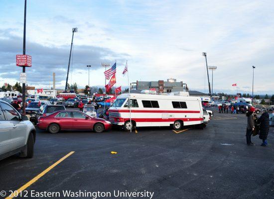 EWU Eastern Washington Eagles Eagles tailgate