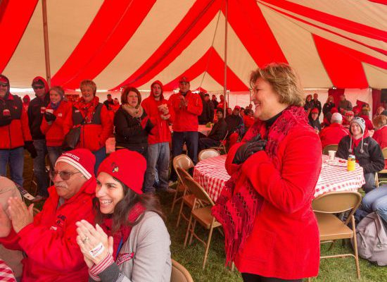 Illinois State Redbirds tailgate
