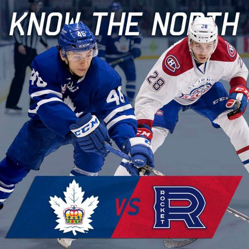 Laval Rocket vs Toronto Marlies