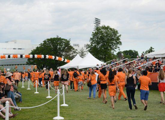 Princeton Tigers tailgate