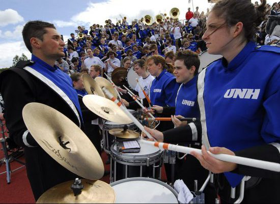 New Hampshire Wildcats marching band