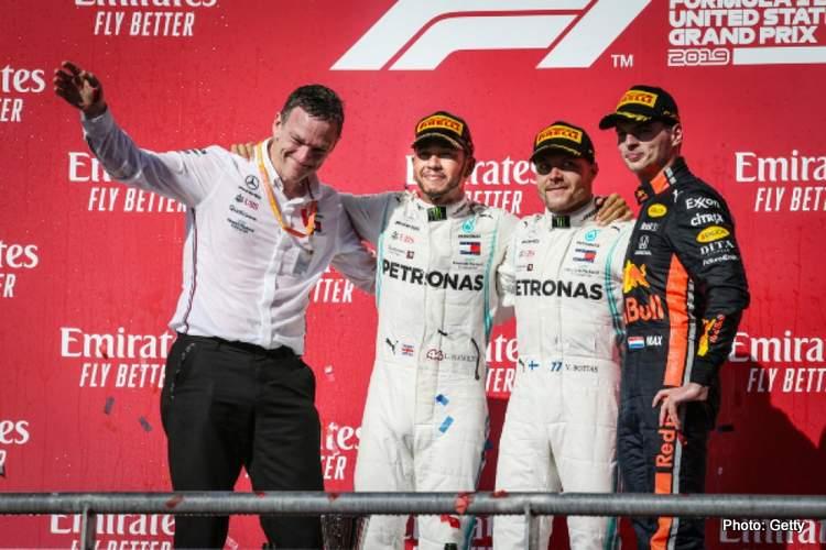 Circuit of the Americas Valtteri Bottas USPrix