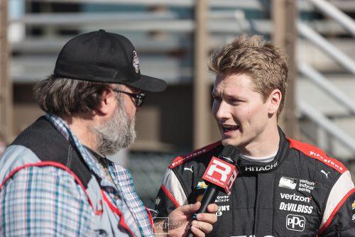 Josef Newgarden racer NASCAR