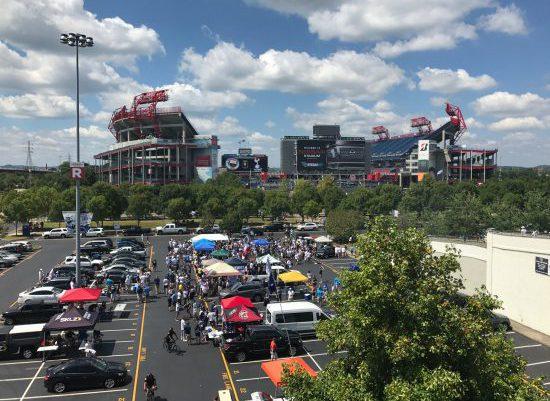 Tennessee State Tigers Nissan Stadium tailgate