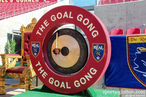 Real Salt Lake Goal Gong