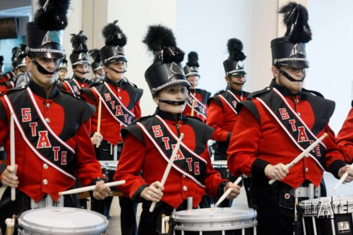 Arkansas State Red Wolves marching band