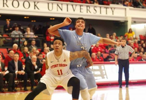 Columbia Lions Stony Brook Seawolves Basketball