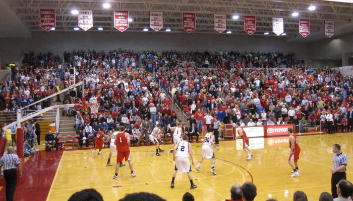 Cornell Big Red Basketball Newman Arena