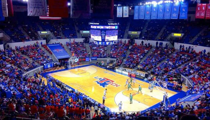 Louisiana Tech Bulldogs basketball arena Thomas Assembly Center