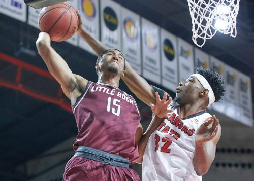 UALR Little Rock Trojans Basketball Jack Stephens Center