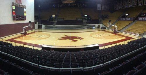 Texas State Bobcats Basketball Strahan Coliseum