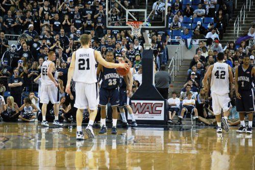 Utah State Aggies Nevada Wolf Pack basketball game