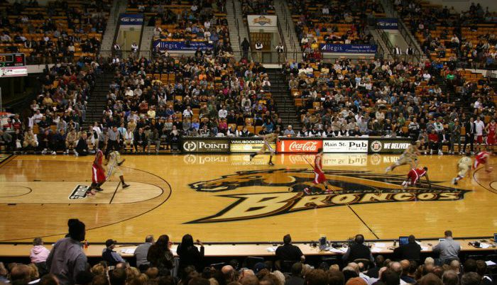 Western Michigan Broncos Basketball wmu University Arena