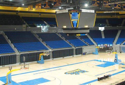 Pauley Pavilion empty