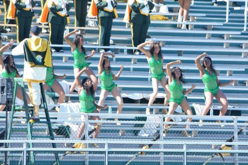 Norfolk State Spartans William Dick Price Stadium hot ice dance team