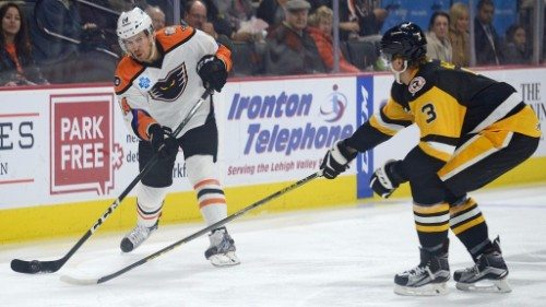 Lehigh Valley Phantoms vs Wilkes Barre Scranton Penguins