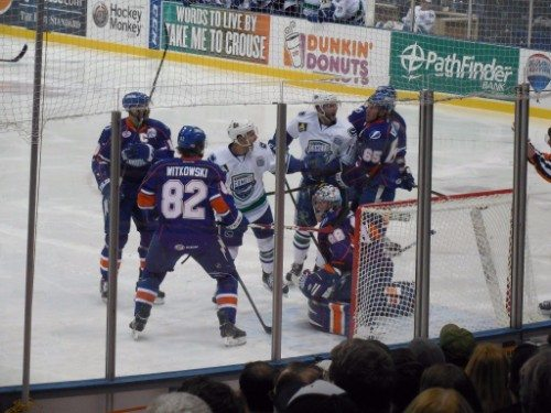 Syracuse Crunch vs Utica Comets