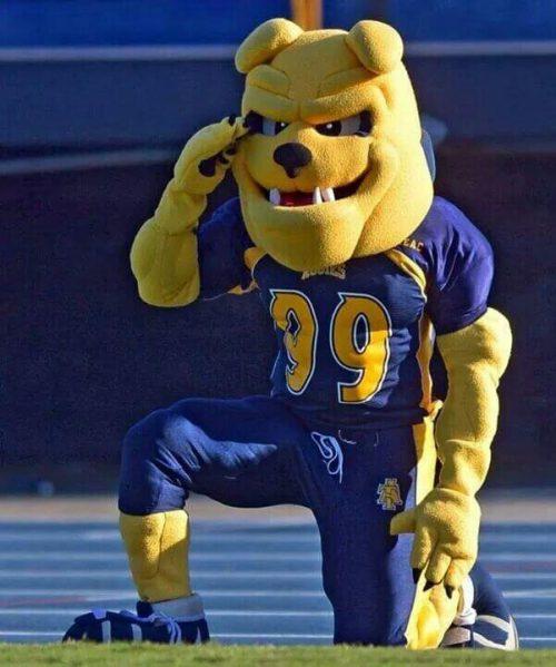 North Carolina AT Aggies mascot Aggie