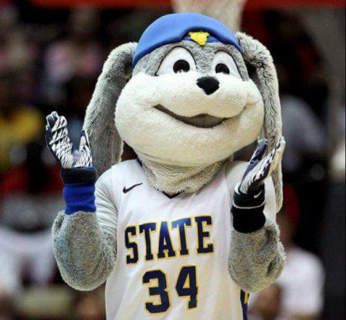 South Dakota State Jackrabbits mascot