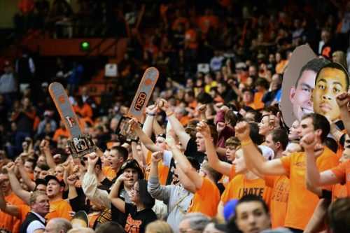 Oregon State Beavers The Dam basketball