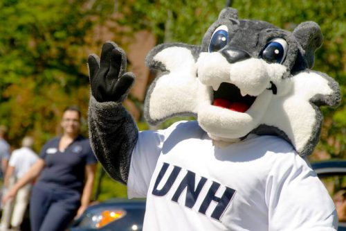 New Hampshire Wildcats mascot Wild E Cat