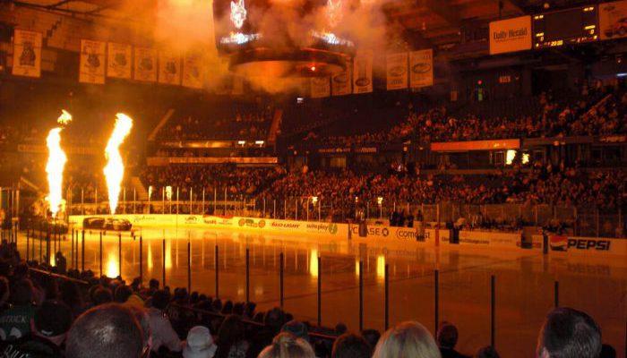 Chicago Wolves Allstate Arena