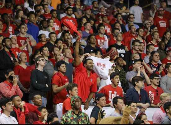 Houston Cougars Basketball fans