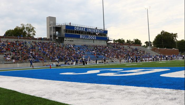 Drake Stadium Bulldogs football
