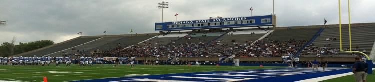 Memorial Stadium Terre Haute Indiana State Sycamores