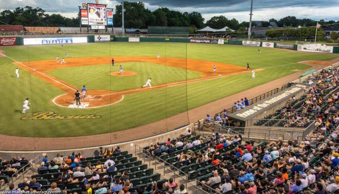 Montgomery Biscuits Montgomery Riverwalk Stadium