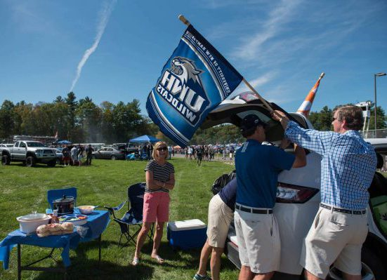 New Hampshire Wildcats tailgate