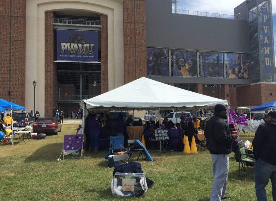 Prairie View AM Panthers tailgate