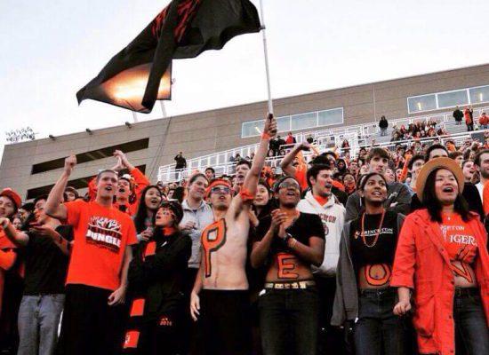 Princeton Tigers fans FCS