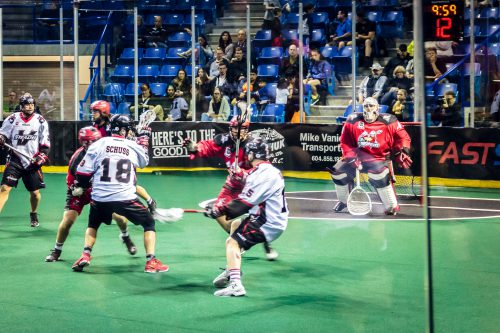 Calgary Roughnecks vs Vancouver Stealth