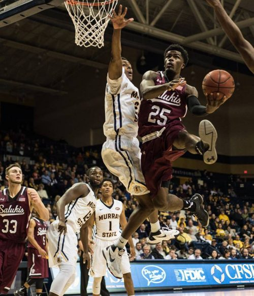 Southern Illinois Salukis vs Murray State Racers basketball
