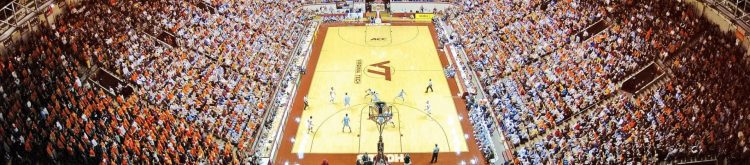Cassell Coliseum Virginia Tech Hokies Basketball