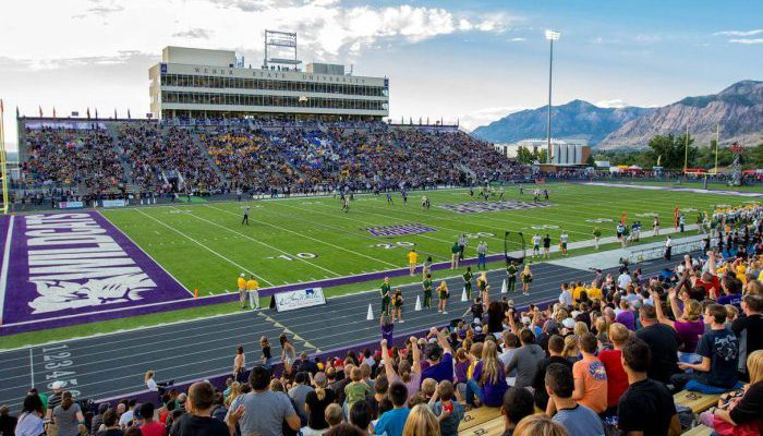 Weber State Wildcats football game