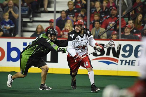 Saskatchewan Rush vs Calgary Roughnecks