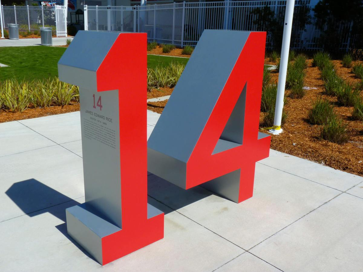 Retired Numbers JetBlue Park at Fenway South Boston Red Sox
