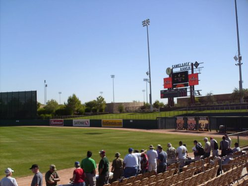 Camelback Ranch retired numbers