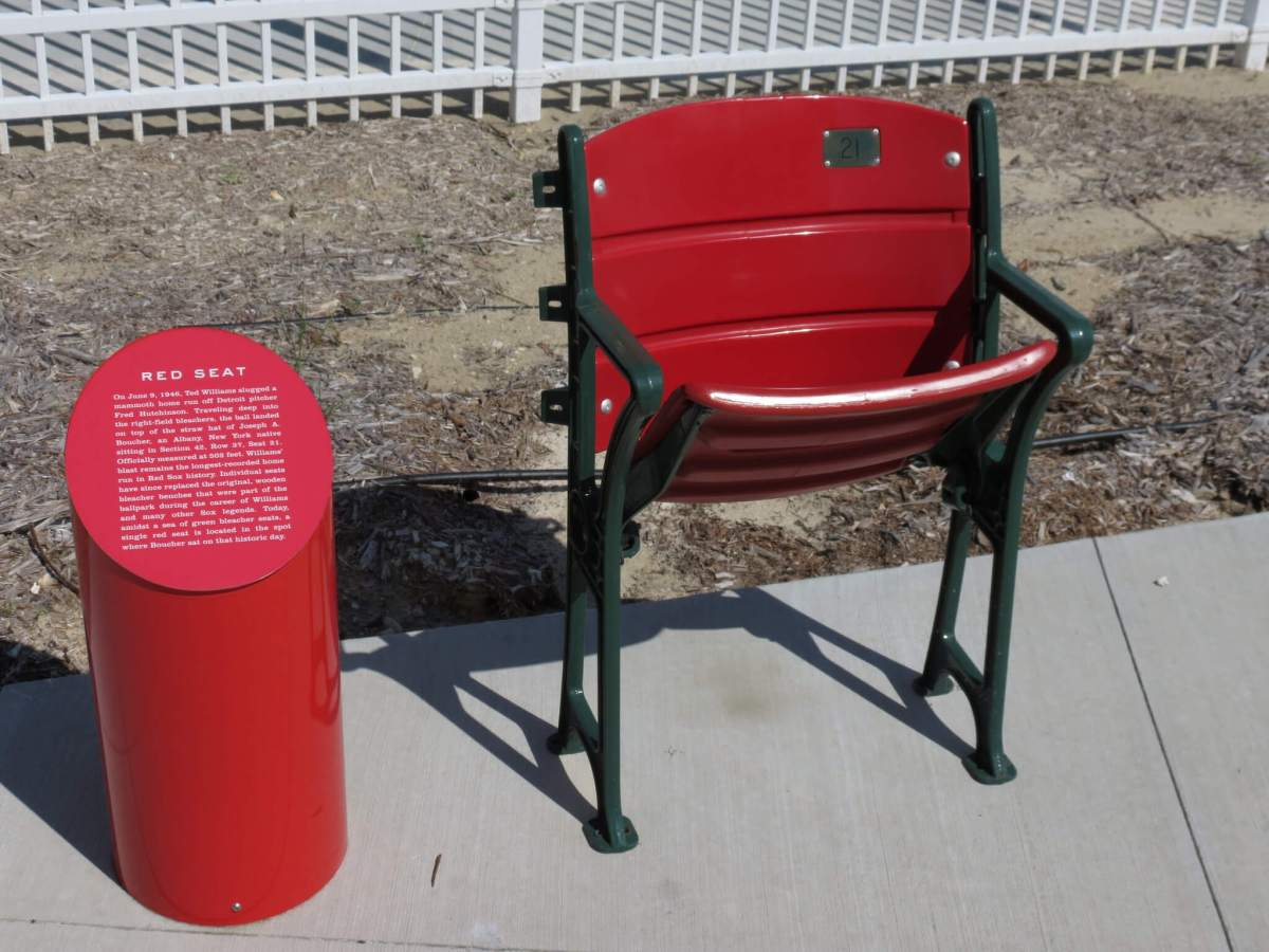 Lone Red Seat JetBlue Park at Fenway South