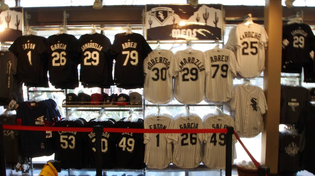 Chicago White Sox Camelback Ranch team store shop