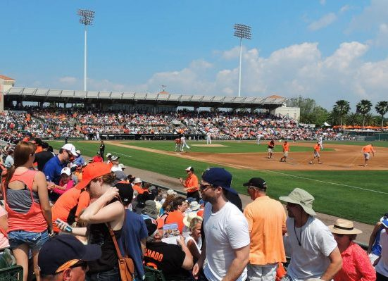 Baltimore Orioles Spring Training Ed Smith Stadium
