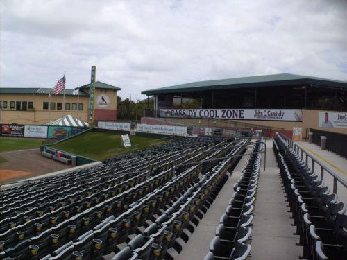 Cassidy Cool Zone Roger Dean Stadium