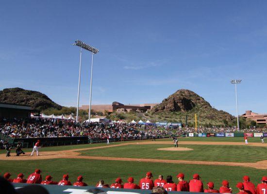 Tempe Diablo Stadium Los Angeles Angels Spring Training