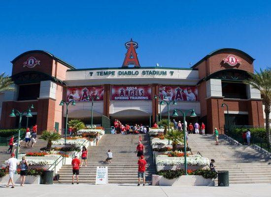 Los Angeles Angels Spring Training Tempe Diablo Stadium