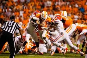 Tennessee Volunteers vs Florida Gators football game
