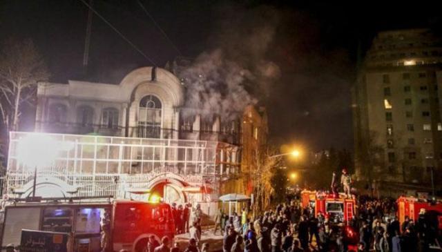 सऊदी दूतावास हमला मामला : ईरान ने वरिष्ठ सुरक्षा अधिकारी को बर्खास्त किया